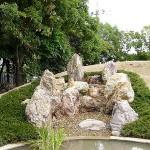 岐阜産の石材使用